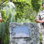 В Симферополе установили закладной камень на месте памятника погибшим от рук террористов