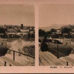 Алушта. Общий вид. Стереопара. Крым. 1910 год.
