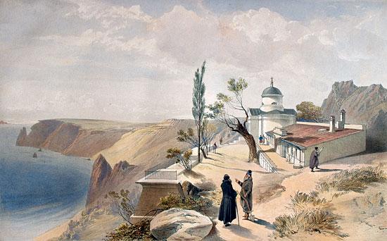 Легенда о возникновении Георгиевского монастыря.