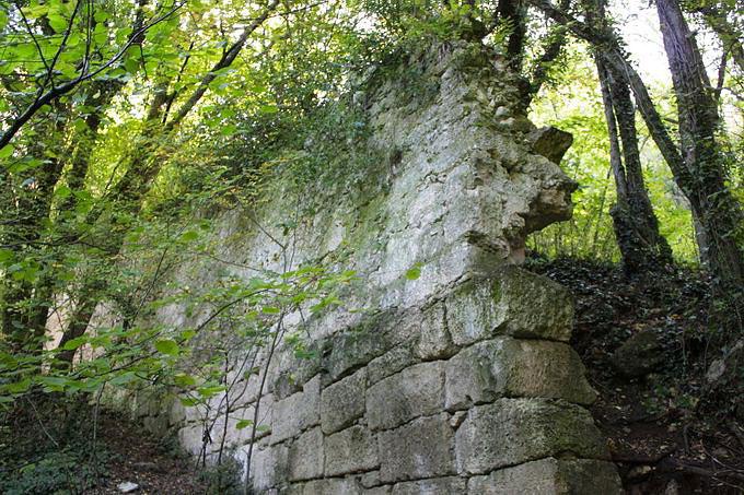 О стене Мангупа.