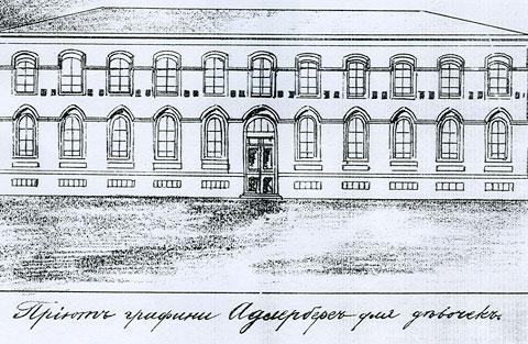 КРУ «Этнографический музей». История здания.