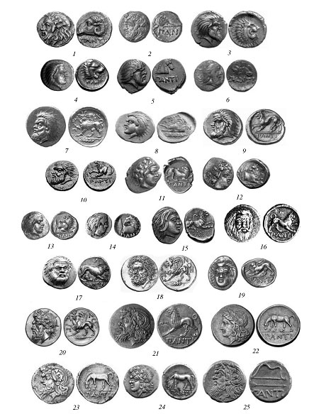 Монетное дело Пантикапея в IV в. до н.э. А.Е. Терещенко