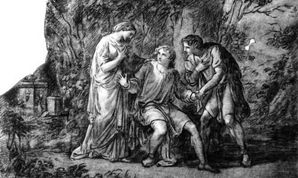 Овидий. Письма с Понта. Рассказ об Ифигении.