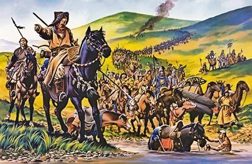 Описание законов рода Чингизидов. «Книга путешествия», Эвлия Челеби.