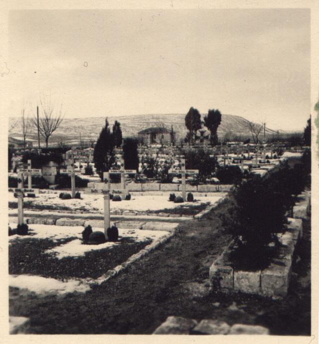 Военное кладбище фашистских оккупантов