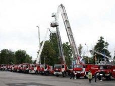 В Симферополе проведут парад пожарно-спасательной техники