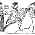 138. Медея помогает Ясону похитить золотое руно