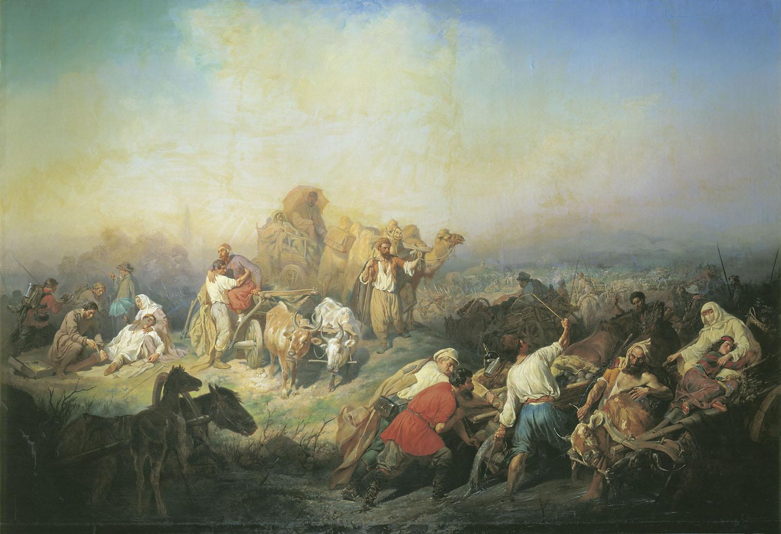 voennaja-doroga-mezhdu-sevastopolem-i-simferopolem-vo-vremja-krymskoj-vojny