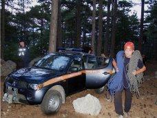 За выходные в горах Крыма дважды травмировались туристы