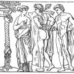 211. Орест едет в Тавриду за священным изображением Артемиды