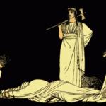 208. Агамемнон и сын его Орест. Смерть Агамемнона