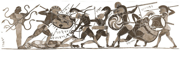 the description of achilles as a hero of the great trojan war Ajax was a hero in greek mythology  his teacher was the centaur chiron, and he was taught side by side with the great hero achilles during the trojan war.