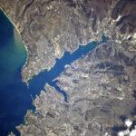 Крым с космической высоты