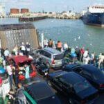В порт «Кавказ» на Керченской переправе прибывает 5 машин в минуту