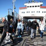 Очередь на паром в Крым за сутки сократилась в полтора раза