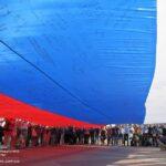 В Симферополе представили «Флаг единства крымчан»