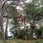 В Мисхоре открылся веревочный парк