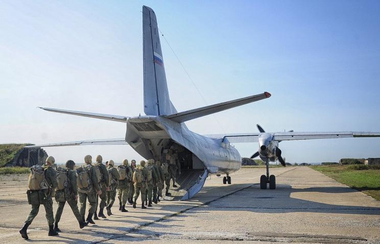 Крым войска
