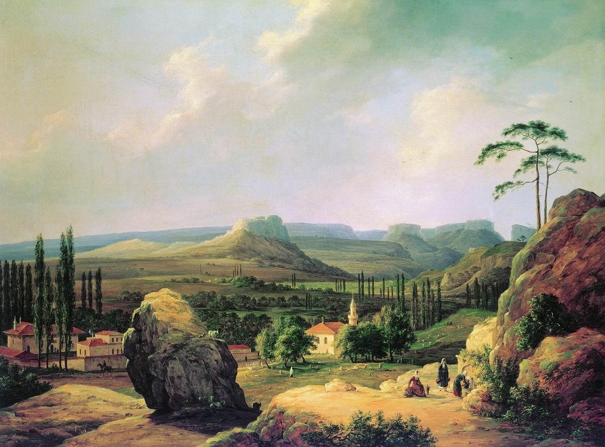 Вид  Каралезской долины