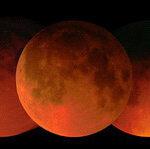 Лунное затмение 8 октября 2014 года.