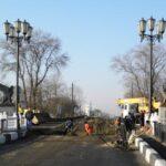 Мост на въезде в Керчь закрыли на ремонт