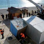 До 1 февраля все пляжи Крыма будут очищены от ларьков и аттракционов