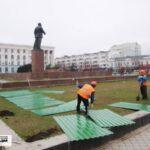В Симферополе началась реконструкция главной площади