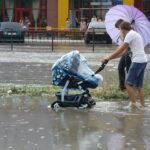 Сегодня и завтра в Крыму вновь вероятны ливни и град