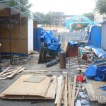 Как сносят незаконные торговые точки на Козлова в Симферополе