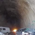 Шесть человек пострадали в тройном ДТП под Ялтой (Видео)