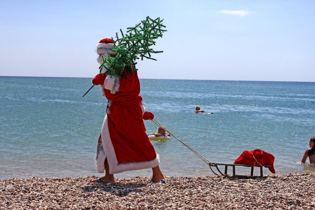 Дед Мороз Лето