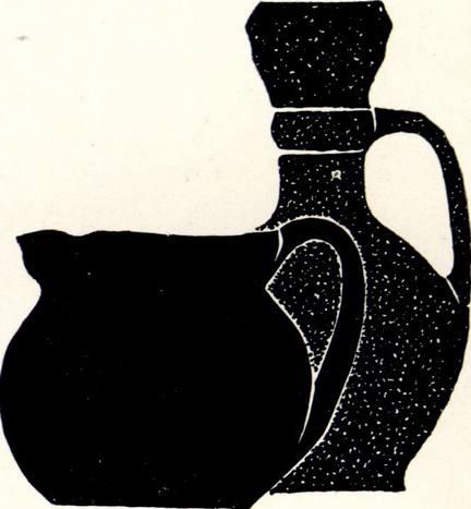 Средневековая посуда из могильника Фуны