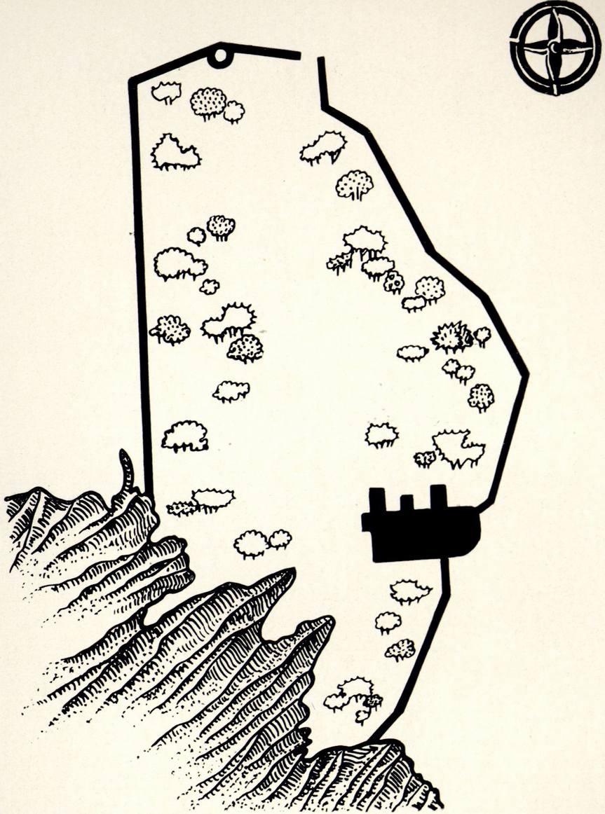 План крепости Фуна