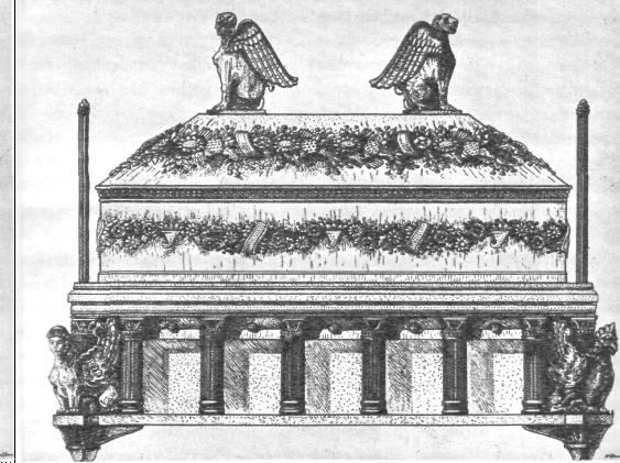 Саркофаг царицы. Реконструкция