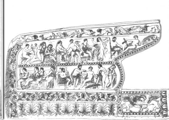 Золотое налучье из Чертомлыкского кургана. IV век до н. э.