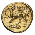 Заметки нумизмата. Самая дорогая в истории античная монета. Золотой статер Пантикапея